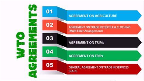 gatt  wto major wto agreements gatt  wto