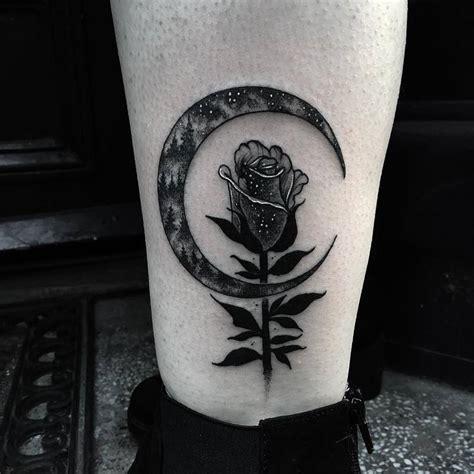 blackwork dark tattoos  merry morgan page    tattooadore