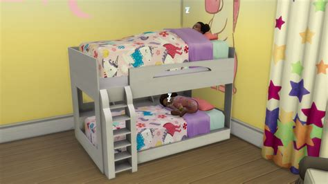 bed frame the sims 4 mods functional toddler objects