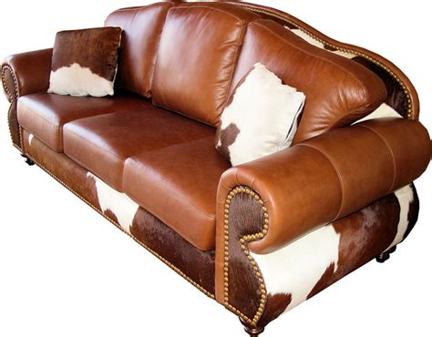 Cowhide Sectional Sofa by Cowhide Sofas Hair On Hide Couches