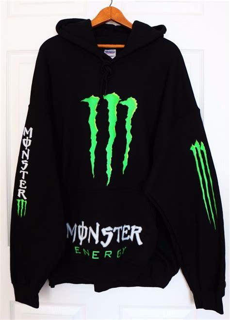 energy pullover new energy black green sweater hoodie pullover