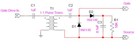 Mosfet Gate Transformer Noise Issue Electrical