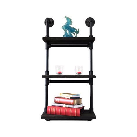 Wall Etagere by Juneau Industrial Wall Mounted Etagere Rack