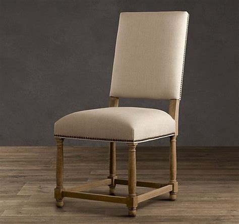 parsons style furniture antique wooden fully upholstered dining room chairs