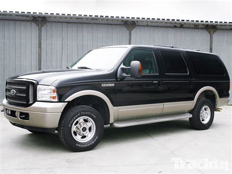 ford excursion family hauler makeover truckin