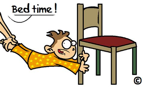 kid going to bed clipart avoid the bedtime blues by synchronizing those clocks