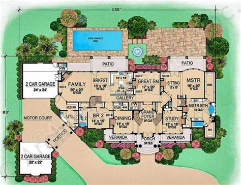 Villa Home Plans by Villa Mansion Floor Plans Luxury Floor Plans