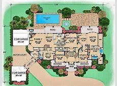 Villa house plans floor plans Homes Floor Plans