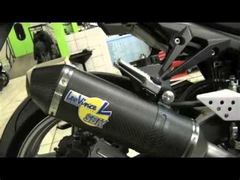 pot leovince gp z750 pot leovince factory 2 evo carbon kawasaki z750 r moto station l a mesur 233 sur le banc
