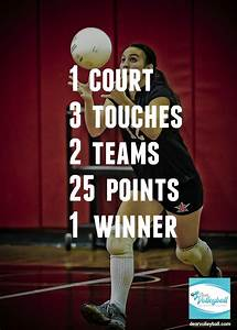 24 Motivational... Short Volleyball Team Quotes