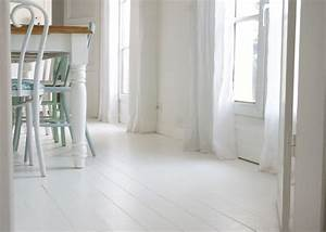 Peindre son parquet en blanc le mode d39emploi le blog for Peindre son parquet en blanc
