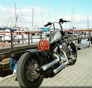 Harley Davidson Softail Evolution Chopper Oldschool Frisco Sportster Lowbrow Custom Gas Tank
