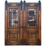 Doors Sliding Door Wood Exterior Screen Glass