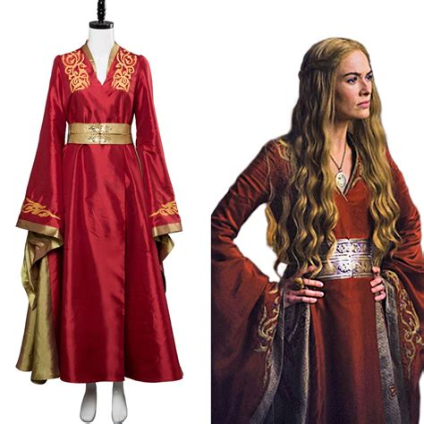 Cersei Lannister Got Game Of Thrones Outfit Cosplay
