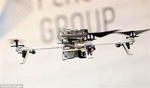 Palm-sized drones and self-flying vehicles go on display ...