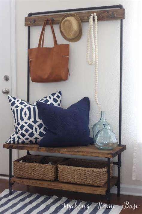 diy entryway decor  storage ideas
