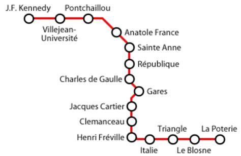 metro bureau rennes plan du métro de rennes