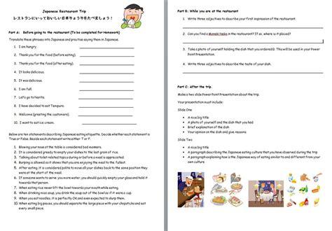ordering food dialogue worksheet free printables worksheet
