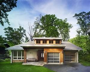 Mid century modern lake house modern exterior dc for Mid century modern home exterior