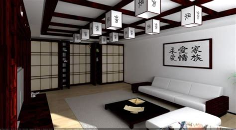 japanese style room decor ceiling design ideas in japanese style