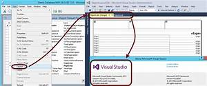 rdlc template - nav 2016 cu 1 compatible with visual studio 2015 ce