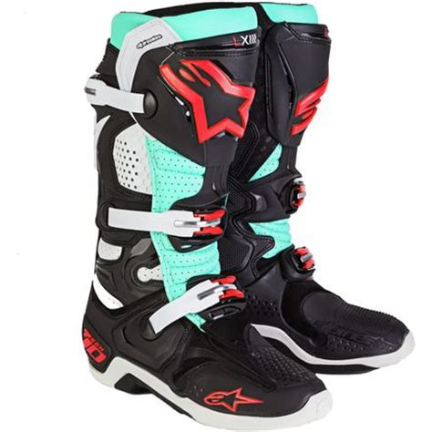 dirt bike riding shoes dirt bike alpinestars tech 10 boots tomac replica