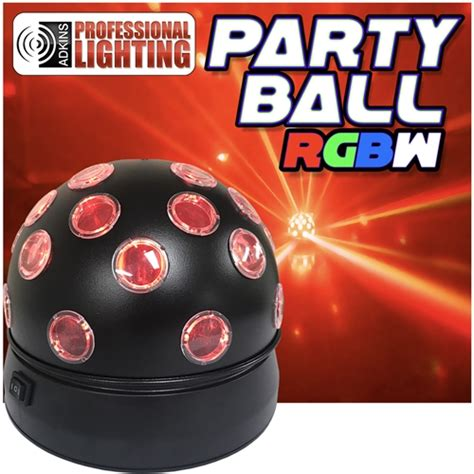 Party Ball Rgbw Rotating Led Disco Effect Adkins