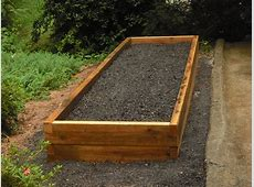 DIY Soil Mix For Recycle Wood Raised Bed Vegetable Garden