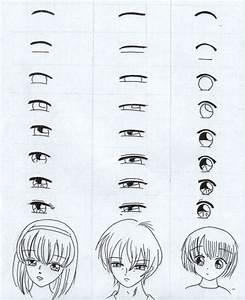 Dessin Facile Yeux : le bonus de la semaine techniques de dessin les yeux 39 mangas 39 mucha 39 s scrapbook ~ Melissatoandfro.com Idées de Décoration