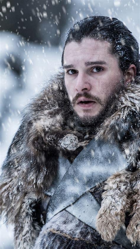 wallpaper jon snow kit harington game  thrones season