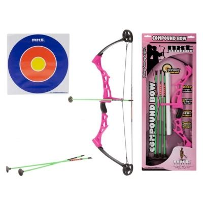 Compound Bow and Arrow Toy Set