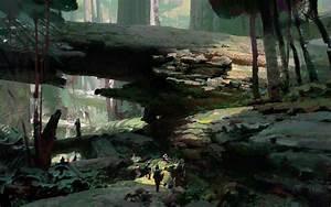 Artstation - Fallen Logs