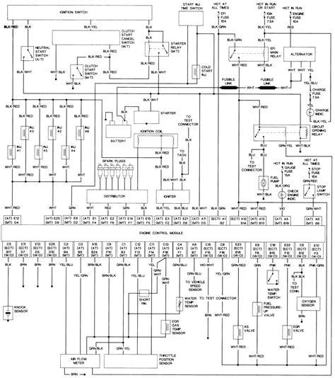 Toyotum 4runner Wiring Schematic by Repair Guides Wiring Diagrams Wiring Diagrams