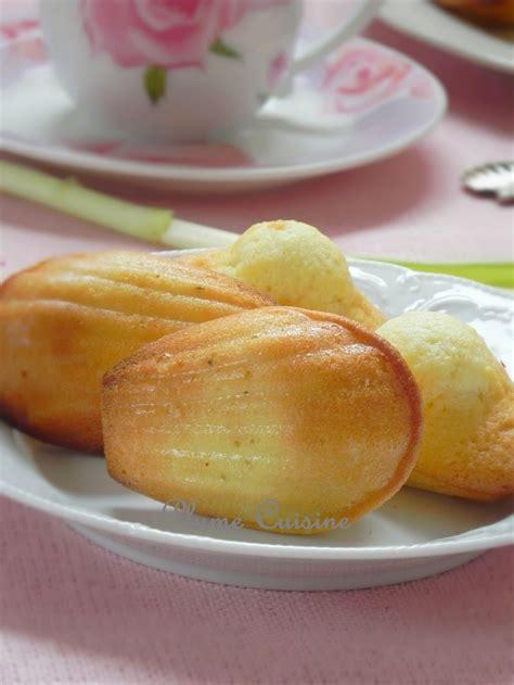 recette de cuisine avec des l馮umes recette de madeleines légères et faciles une plume dans la cuisine