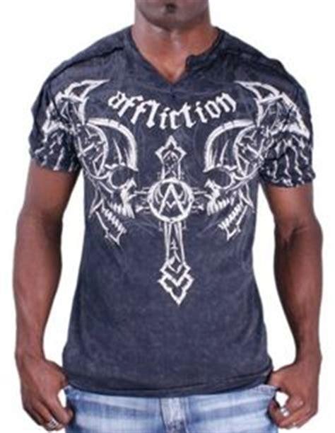 xtreme couture affliction t shirt offering skull biker ufc m 4xl 40 affliction