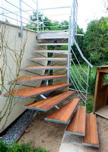 re de terrasse et escalier ext 233 rieur metal concept