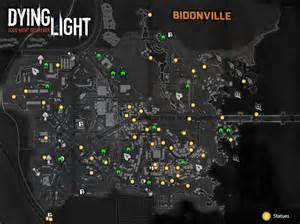 light location map cartes des bidonvilles soluce dying light supersoluce