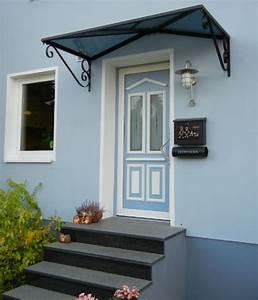 Vordach Haustür Mit Seitenteil : metall haust r berdachung bilder der eingangs berdachung aus metall ~ Buech-reservation.com Haus und Dekorationen