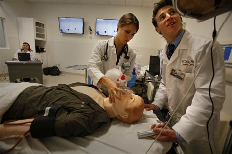 ucsd medical school opens  million training center