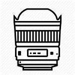 Icon Canon Lens Dslr Camera Vectorified