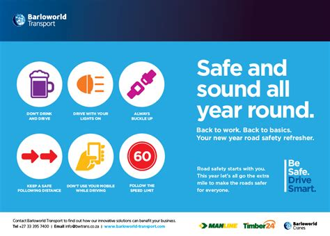 barloworld transport  road safety
