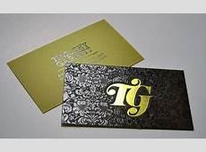 Tarjetas Personales Hot Stamping en mate 1 Millar Imprenta B