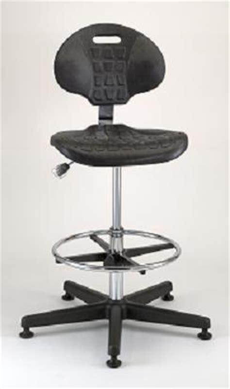 class  polyurethane cleanroom chair  star polished