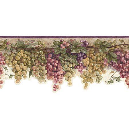 Grape Vine Wallpaper Border - Walmart.com