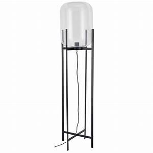 Lampenschirm Stehlampe Glas : stehlampe aus glas und schwarzem metall cosmopolitan jetzt bestellen unter https ~ Indierocktalk.com Haus und Dekorationen