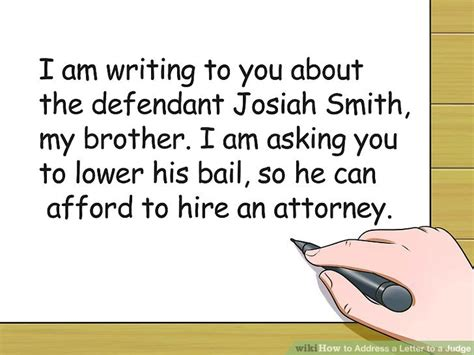 how do i address a letter to an inmate 3 ways to address a letter to a judge wikihow 22140