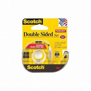 Scotch Double Face : scotch permanent double sided tape photo safe 5 x 450 ~ Melissatoandfro.com Idées de Décoration