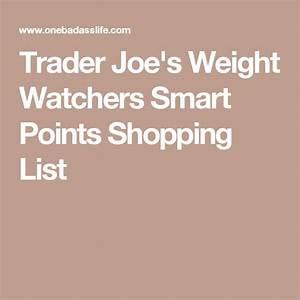 Weight Watchers Smartpoints Berechnen 2016 : trader joe 39 s weight watchers smart points shopping list fall beauty 2016 pinterest weight ~ Themetempest.com Abrechnung