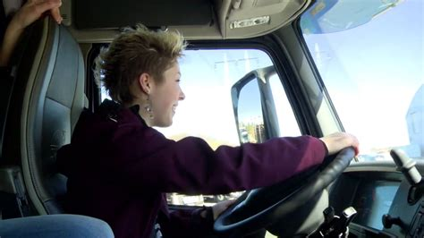 volvo trucks ladies day  proves truck driving
