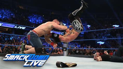 Dean Ambrose vs. AJ Styles - WWE World Championship Match ...